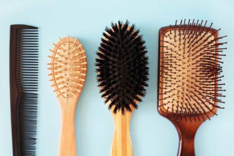 Tipos de cepillos para el pelo