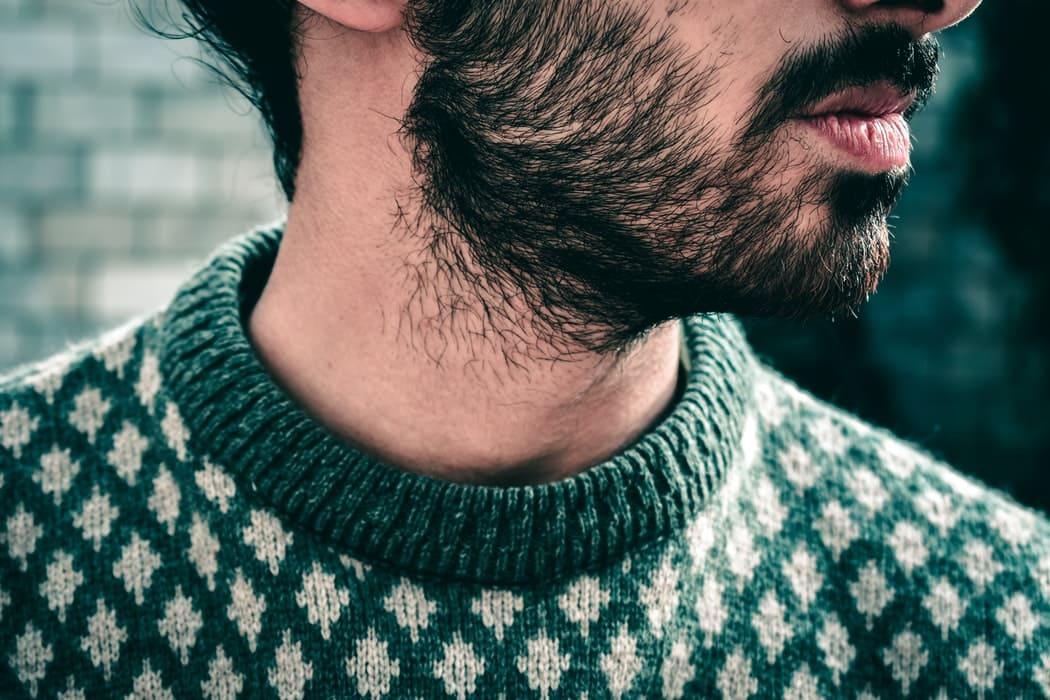 Causas y tratamiento de la caspa en la barba